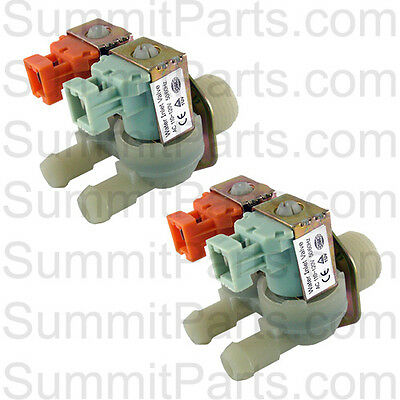 2Pk - 2 Way, 110V Inlet Valve For Wascomat Washers - 823507N, 823557N