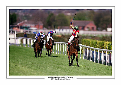 Grand National 1999 Bobbyjo Paul Carbury Horse Racing A4 Photo Aintree