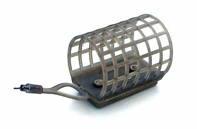 10 x Medium cage feeders ideal for rivers/barbel/carp fishing in 3 weights