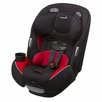 Safety 1st Continuum BABY CAR SEAT, 3 In 1 Harnessed BOOSTER SEAT, Chili Pepper