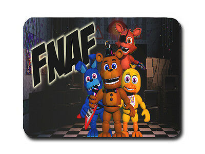 Five Nights At Freddy's Mousemat / Pad (Fnaf Four) Pc Computer Gamers