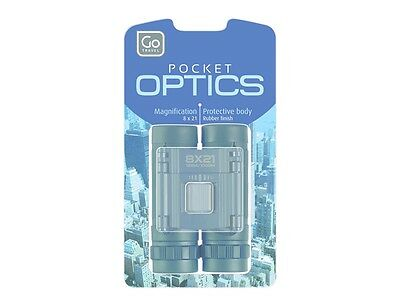 Go Travel Pocket Optics, Magnification 8x21 with Carry Case