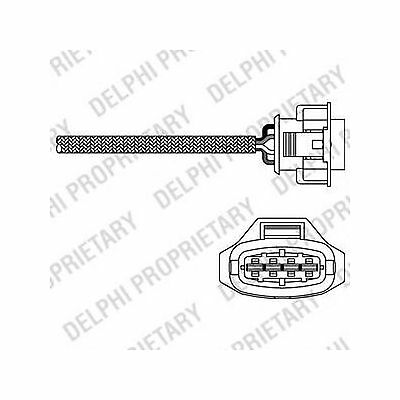 New Opel Astra G 1 6 Genuine Eec Rear Lambda Sensor O2 Oxygen Probe
