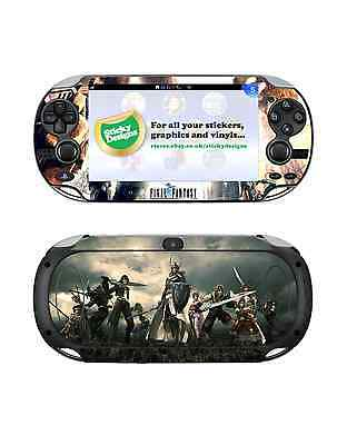 PS Vita Final Fantasy Skin Decal  - Protective Playstation Vita Skin Stickers