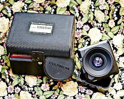 Fuji Gx680 135Mm 5.6 + Box Et Caches