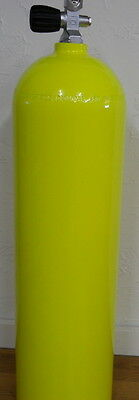 Aluminum Scuba Paintball Tank 80 cuft Catalina Yellow