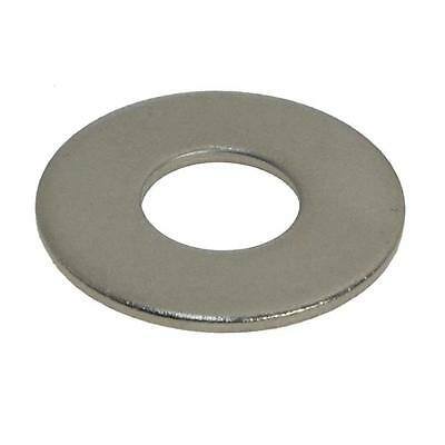 """Qty 50 Flat Mudguard Washer 1/4"""" x 1 x 16g Stainless SS 304 A2 Penny Fender"""