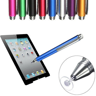 Thin Tip Capacitive Stylus Pen Fine Point Round For iPhone iPad Android Phones