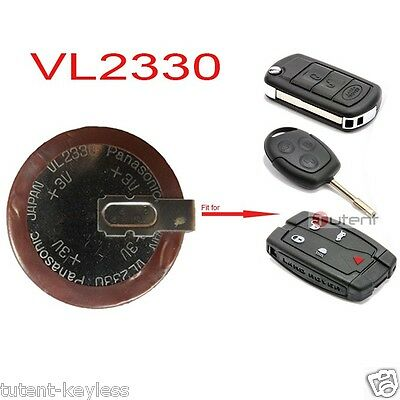 Rechargeable VL2330/HFN 3V Lithium Coin Cell Battery for BMW Land Rover Benz New