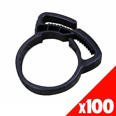 RATCHET CLAMP 25mm Low Density Fittings Garden Water Irrigation 44325 BAG of 100