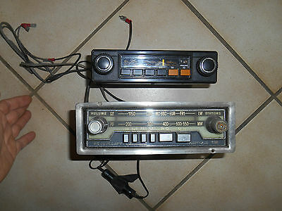 Ancien Autoradio Philips PO GO & Radiomatic Monza 12 Ancienne Automobile