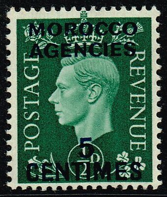 Morocco 1937 5c. on ½d. green, MH (SG#230)