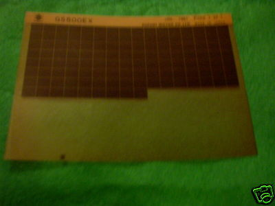 Suzuki Gs500 Gs 500 Gen Parts Catalogue Microfiche 1981