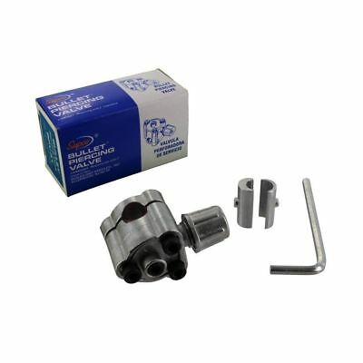 Supco BPV31 Type Universal Fitting Bullet Line Tap Valve for R12/R22/R134a/R502