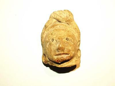 Circa 900 AD Figurehead Of A Huastec/Huaxtec Female