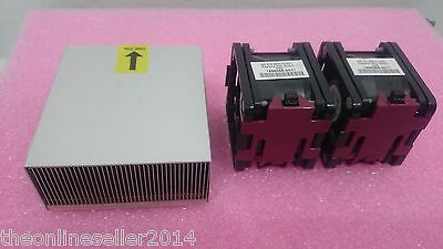 HP DL380 G7 CPU upgrade kit - Heatsink and 2 Fans 496066-001 496064-001