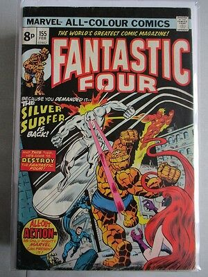 Fantastic Four Vol. 1 (1961-2012) #155 FN+ UK Price Variant