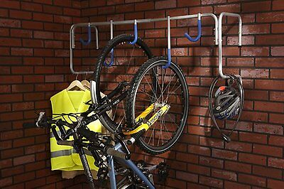 Bike Wall Mount Stand Garage Bicycle Holder Shed Storage Rack Parking Space NEW