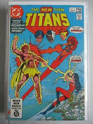 New Teen Titans (1980-1984) #11 VF- UK Price Variant