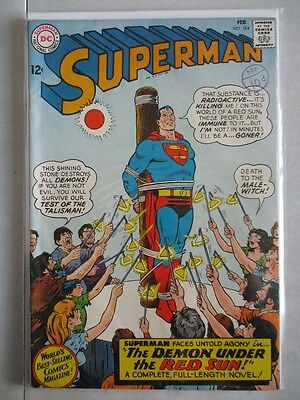 Superman Vol. 1 (1939-2011) #184 VF