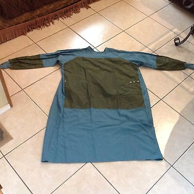 Green Surgical Operating Gown Large 100% cotton