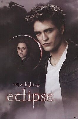 TWILIGHT ~ ECLIPSE EDWARD & BELLA 24x36 MOVIE POSTER NEW/ROLLED!