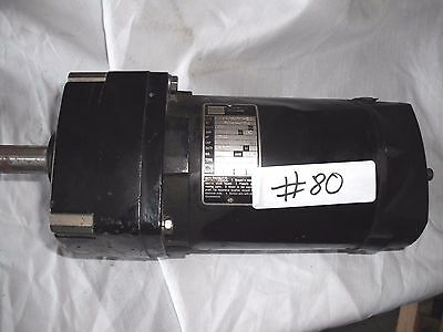 Bodine 42X5Bepy-E2 Electric Gear Motor 1/4 Hp, 230 V