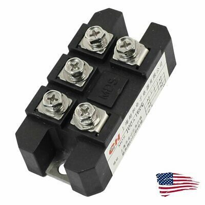 US Ship MDS-100A 5 Terminals 3 Phase Diode Module Bridge Rectifier 100A 1600V