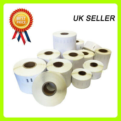 1 2 3 5 10 20 40 50 100 Rolls Compatible Dymo / Seiko Labels 99012 99014 11352