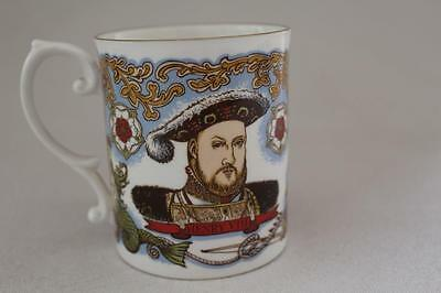 Limited Edition 500 Caverswall Henry VIII Mary Rose Mug Peter Jones Collectable
