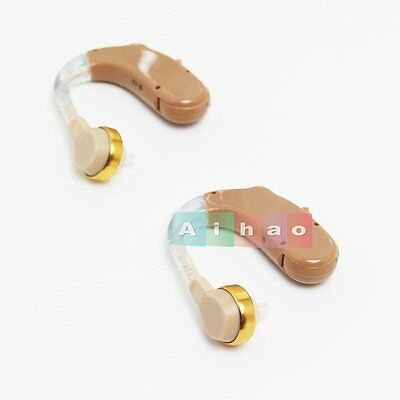 B-13 Smallest Hearing Aids Adjustable Tone Personal Best Sound Amplifier NEW