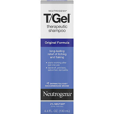 Neutrogena T/Gel Therapeutic Shampoo Original Formula 4.40oz Each
