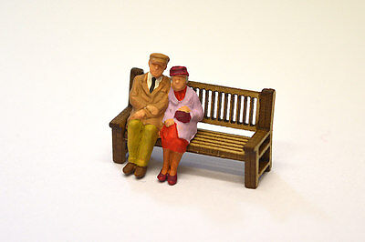 Laser Cut Platform Benches Pack Of 6 O Scale / 1:43 Model Railway - Lx013-O