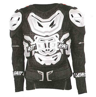 Leatt Body Protector 5.5 White Morocross Chest Armour