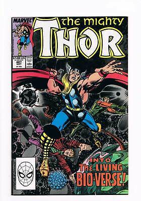 Thor # 407 The Menace of the Living Universe ! grade - 9.0 hot book !!