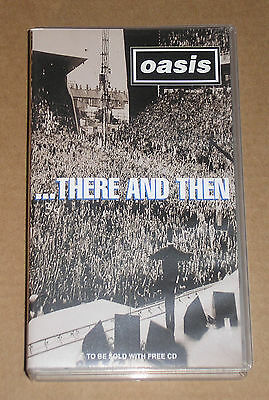 Oasis - ...there And Then - Videocassetta Vhs