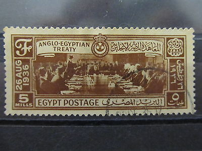 A2P16 EGYPT 1936 5m USED
