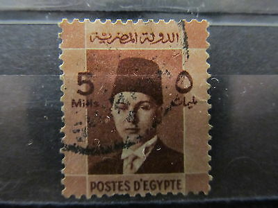 A2P16 EGYPT 1937-44 5m USED