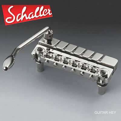 NEW Schaller Retrofit TREMOLO System for Gibson Les Paul SG Vibrato 4201- CHROME
