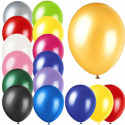 Latex Balloons Big Range of 20 COLOURS Wedding Baloons SIZES (Party Decorations)