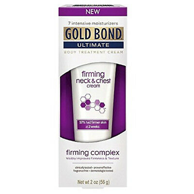 Gold Bond Ultimate Firming Neck & Chest Cream 2 Oz Each