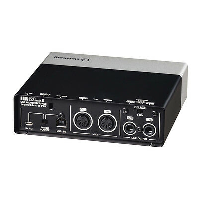 Steinberg UR22MKII 2x2 USB Recording Interface for Mac, PC, and