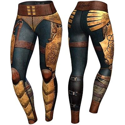 Anarchy Apparel Compression Leggings, Victorian, Fitness Pants, Wear, MMA Hose