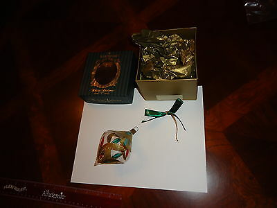 BEAUTIFUL Waterford Holiday Heirlooms Lucerne Ornament W/ Box ITALY