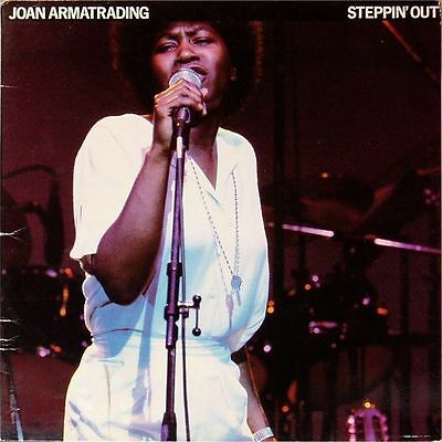 Joan Armatrading 'steppin' Out' Uk Live Lp