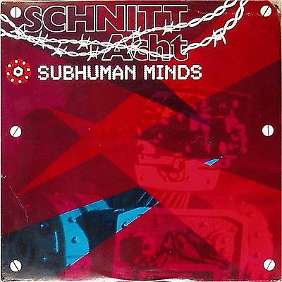 Schnitt Acht 'subhuman Minds' Us Import Lp