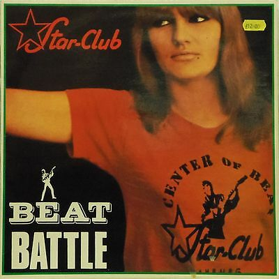 Various Artists 'beat Battle At The Star-Club' German Import Lp On White Vinyl