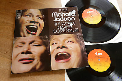 This Is MAHALIA JACKSON The World's Greatest Gospel Singer 2LP CBS 66242