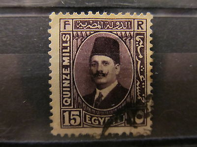 A2P16 EGYPT 1936-37 15m USED
