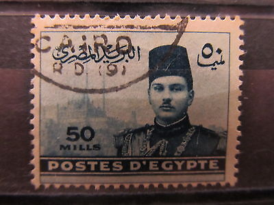 A2P16 EGYPT 1939-46 50m USED